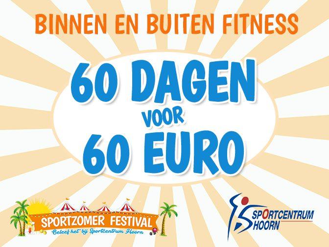 60 dagen 60 euro